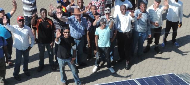 solar training Gauteng